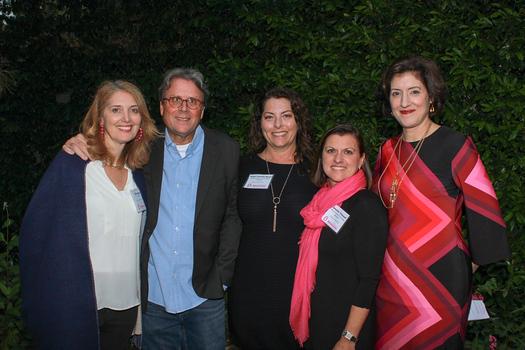 Elise and Rick Wetzel, Dawn Fanning Moore, Jennifer Thibault and Kristin Maschka