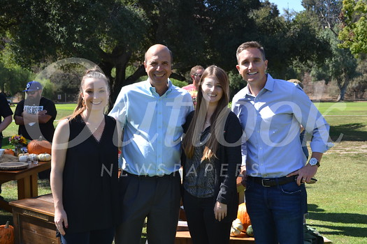 Rose Bowl Marketing and Tour Coordinator Sierra Kemp, General Manager Darryl Dunn, Event Production Manager Julia Goldstein and Chief Revenue Officer Jens Weiden