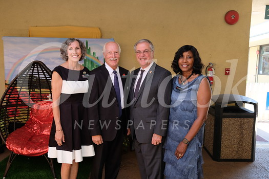 Kathy Larson, Michael Lee, Mayor Terry Tornek and Joan Madsen