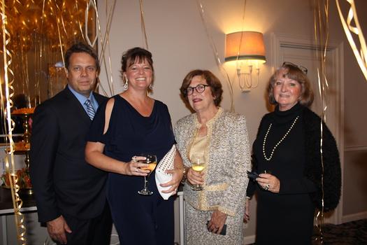Richard Kenyon, LuAnne Kenyon, Anne David and Elaine Mirsha