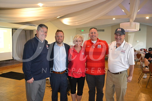 Event committee members Sammy Skinner, Matt Shupper, DeDe Cook, Eddie Arnett and Tom Skidmore
