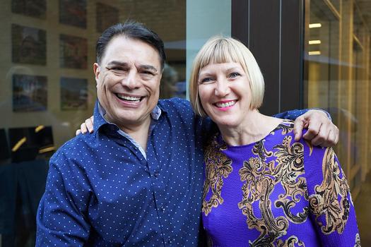 Michael Dilsaver and Kathy Gibson