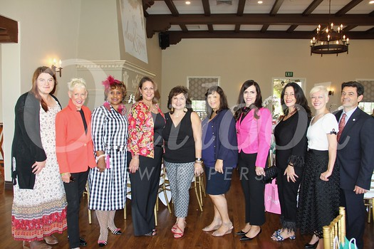 Classy and Sassy Boutique and Luncheon committee members include Lauren LeBer, Courtney White, Jeané Ward, Angela McLaren, event chair Diana Rafeedie-Nofal, Shereen Kelly, Marcia Hoffer, Gina Ammon, Cambry Curry and Dan Maljanian.