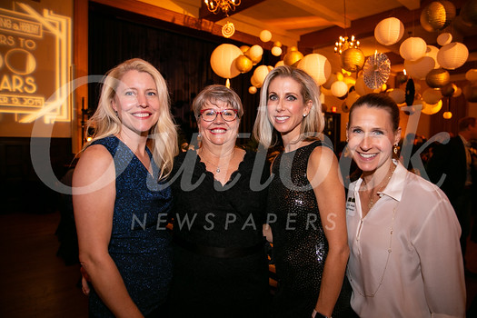 Sandy Roberts, Mary Donnelly-Crocker, Allison Dietrick and Carrie Walker