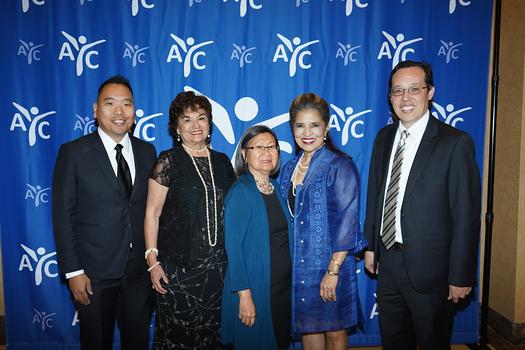 Ricky Choi, Helen Romero Shaw, Lily Baba, Marissa Castro-Salvati and Michael Matoba