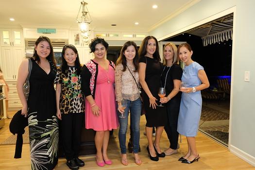 Peggy Shen, Michelle Tang, Wendy Solis, Kate Liu Simon, Karen Omishi, Michelle Lagos and Jessica Tran