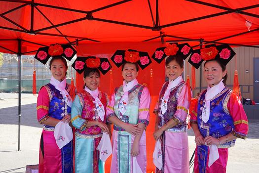 Julia Wang, Ly Kouch, Nana Lam, Joyce Subject and May Liu