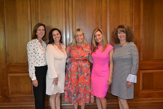 Lynn Eriksen, Maricel de Cardenas, Alison McCrary, Elizabeth Karr and Justene Pierce