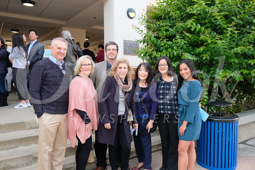 Rob and Marlene Klusman, Joseph and Lulu Cates, and June, April and Ashley Muranaka
