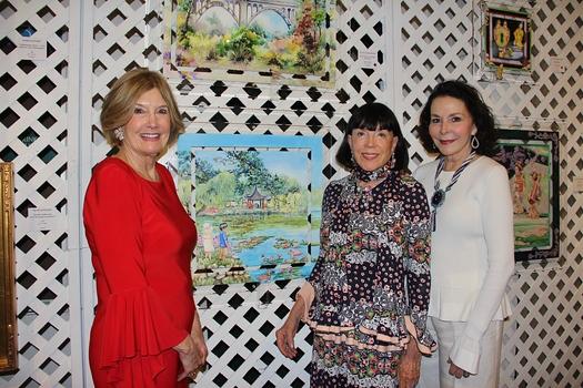 Betsy Weaver, Gayle Garner Roski and Conchita O'Kane