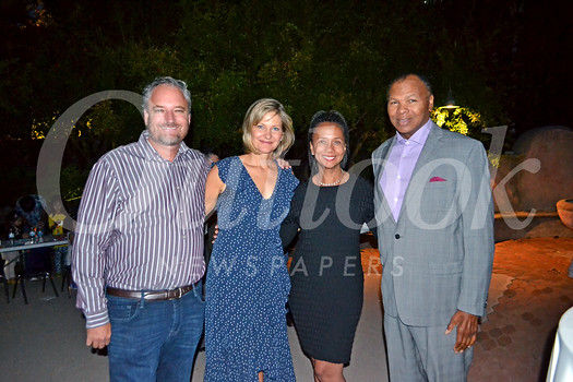 Fabian and Jennie Rousset with Linda and William Tolbert