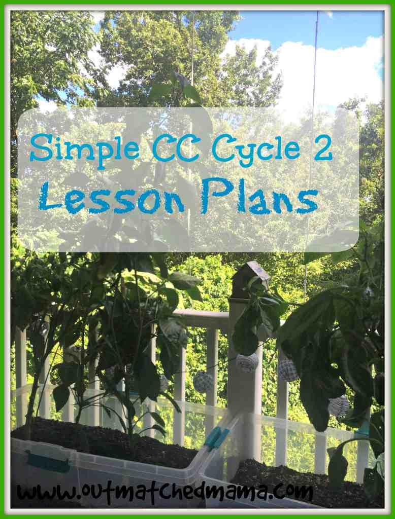 Simple CC Tutor Plans Cycle 2 Week 2