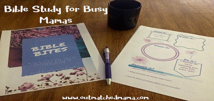 FINALLY! A Bible Study for Busy Mamas!
