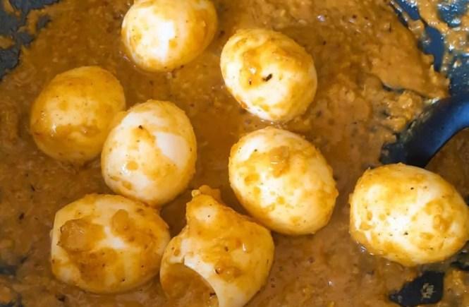 Curry met Eieren