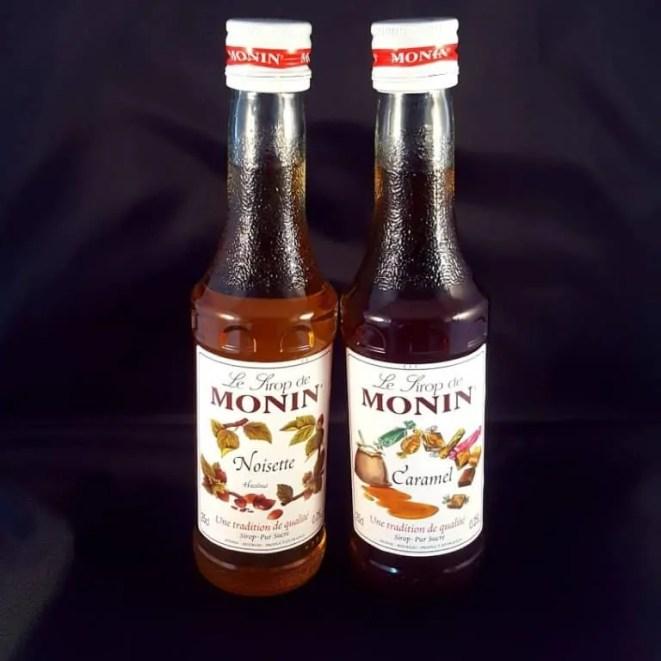 Koffiesiropen van Monin