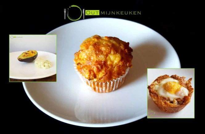 ontbijt uit muffinvorm