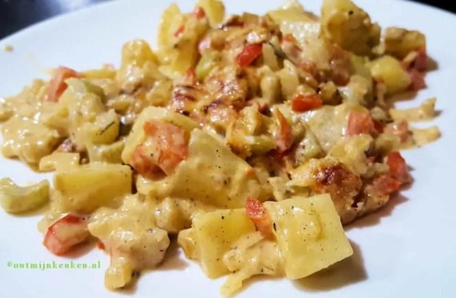 recept vegetarische schotel met cajunkruiden