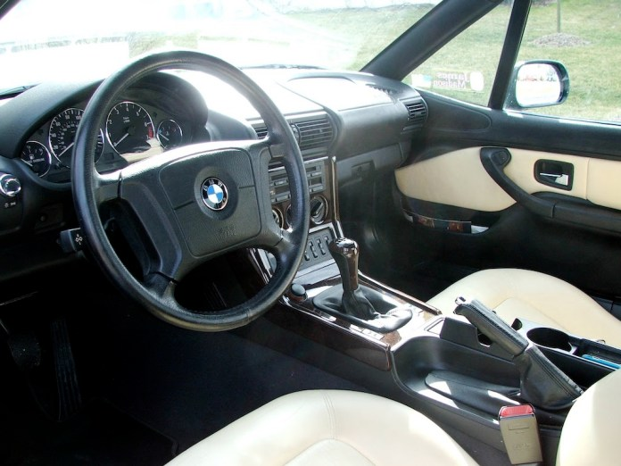 1999 BMW Z3 roadster British Traditional interior