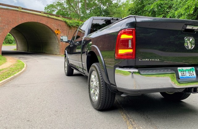 2019 Ram 2500 Limited rear