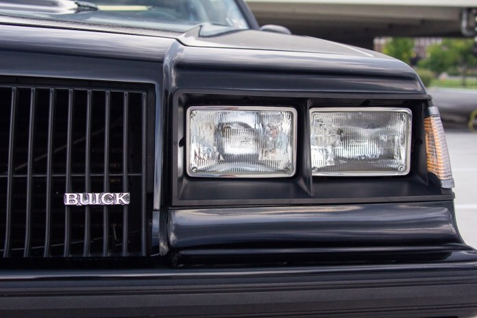 1987 Buick Grand National nose closeup