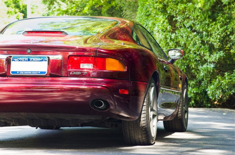 Aston Martin DB7 taillight