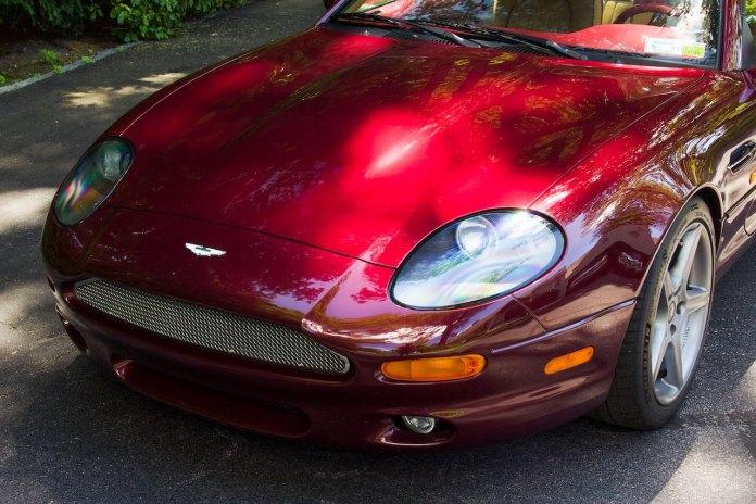 Aston Martin DB7 front