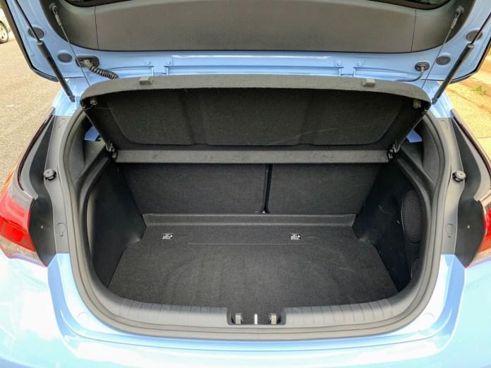 2019 Hyundai Veloster N hatch opening