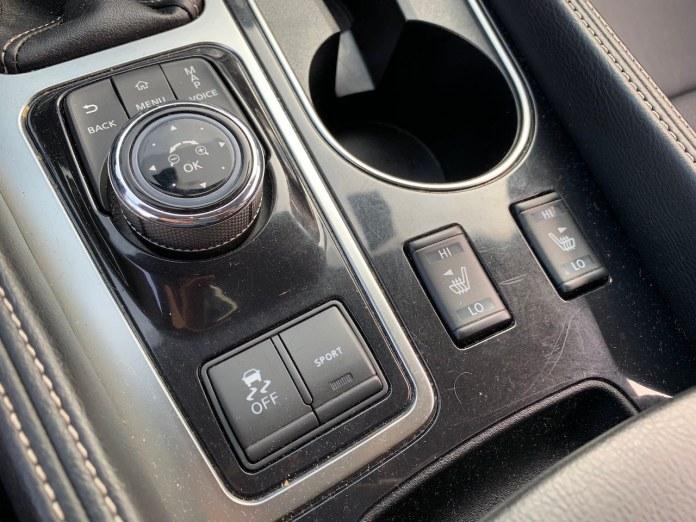 2019 Nissan Maxima SV sport button