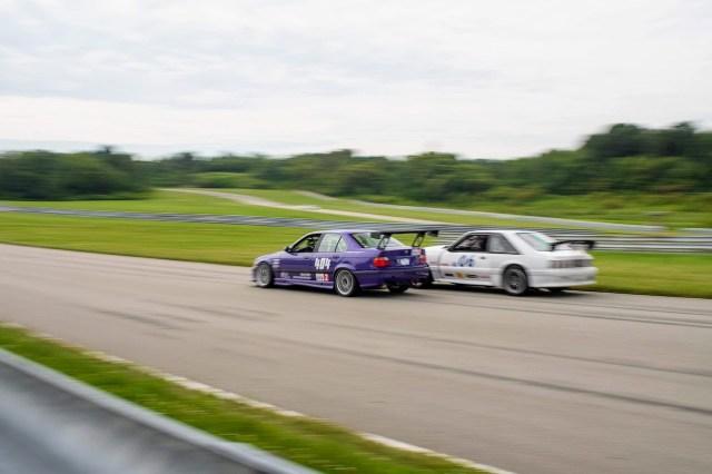 Pitt Race E36 M3 Fox Body Mustang racing