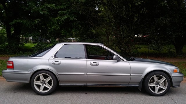 1993 Acura Vigor side