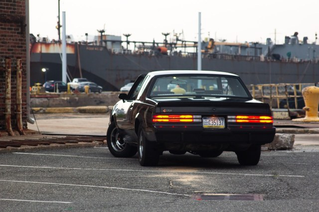 1987 Buick Grand National rear