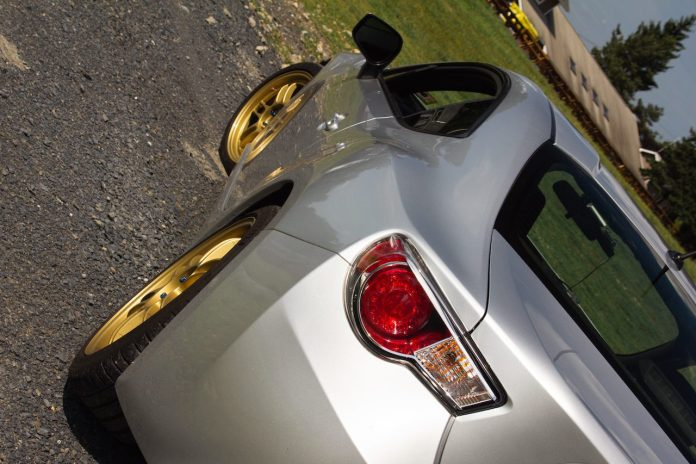 Scion FR-S rear quarter