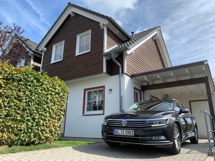 VW Passat estate Nurburgring