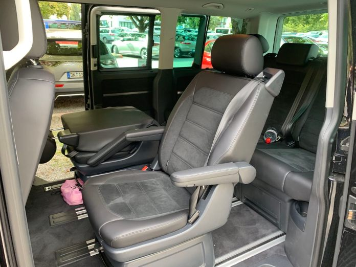 VW Multivan second row
