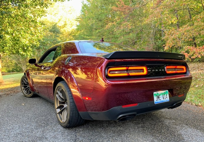 Dodge Challenger Hellcat Redeye Widebody rear