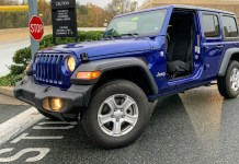 2019 Jeep Wrangler no doors