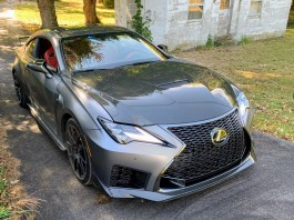 Lexus RC-F Track Edition front