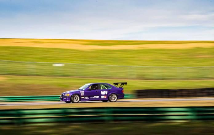 E36 M3 VIR purple