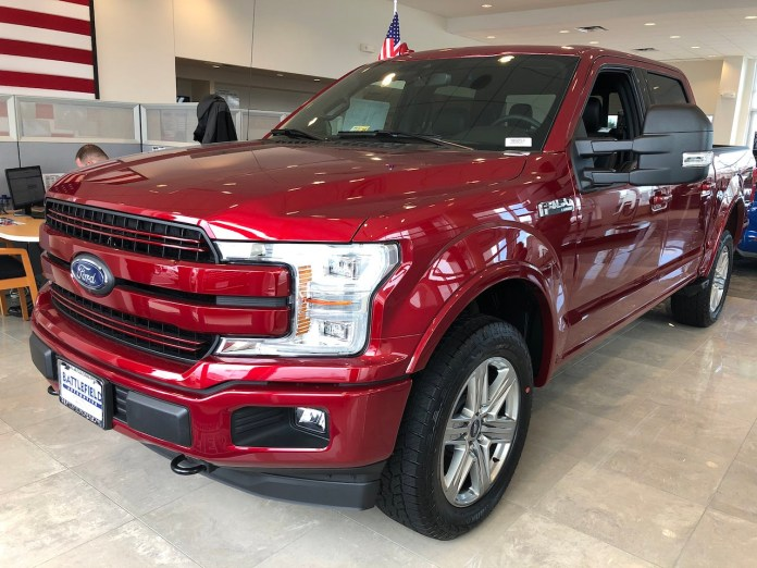2018 Ford F-150 Ruby Red Lariat