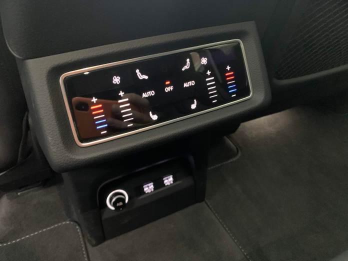Audi E-Tron rear controls