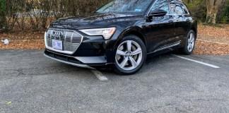 2020 Audi E-Tron front