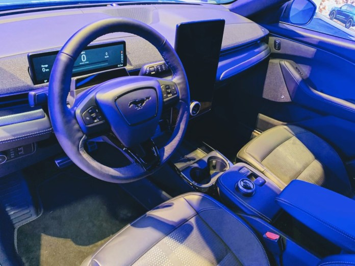 Mustang Mach-E interior