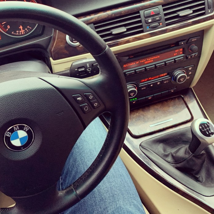 BMW E90 tan interior