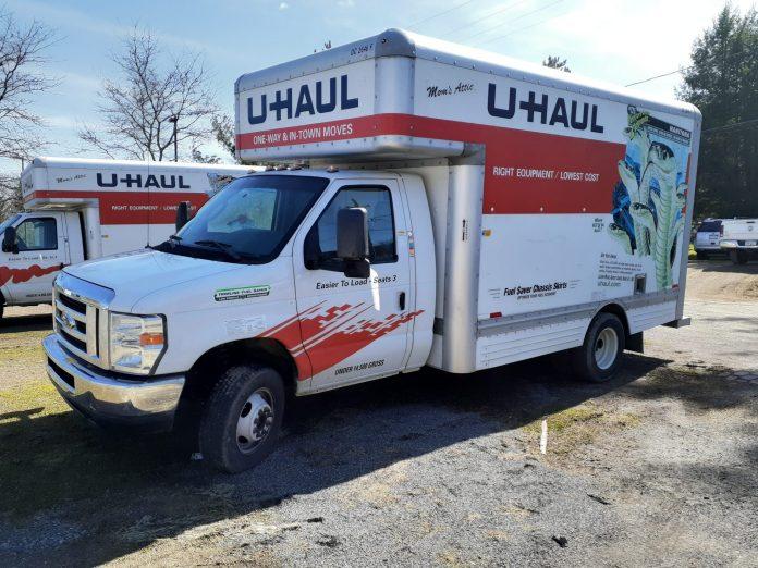 U-Haul 15ft Cube Truck