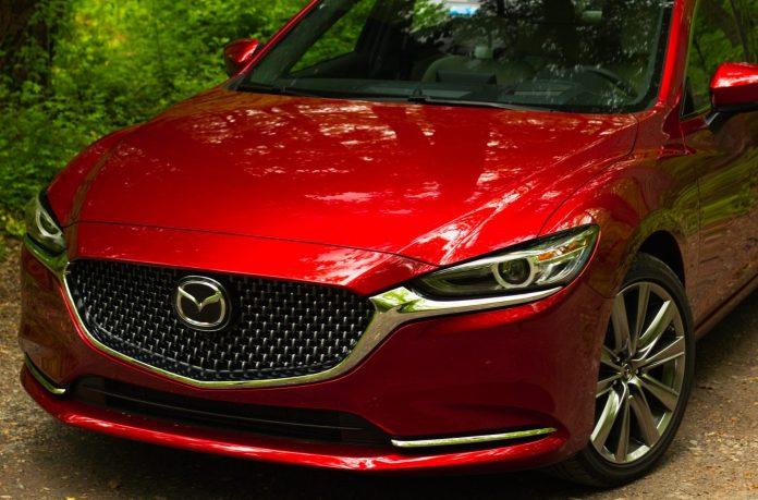 2020 Mazda6 Signature front