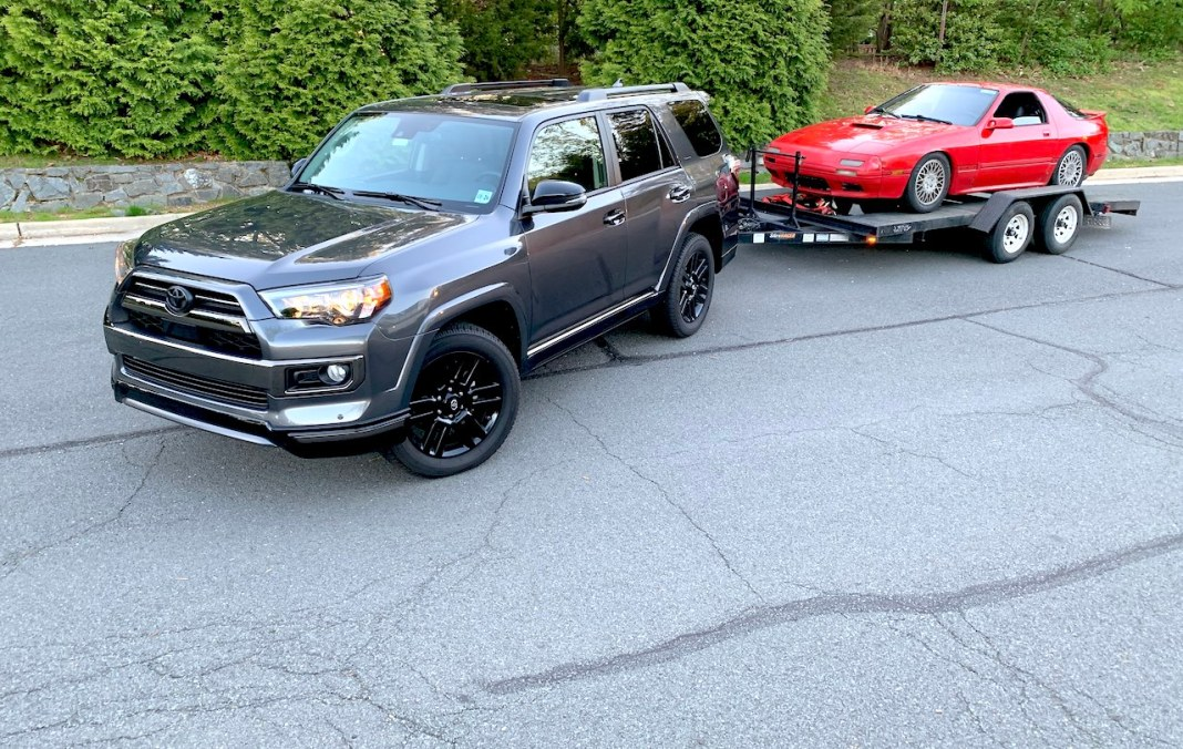 2020 4Runner Nightshade towing