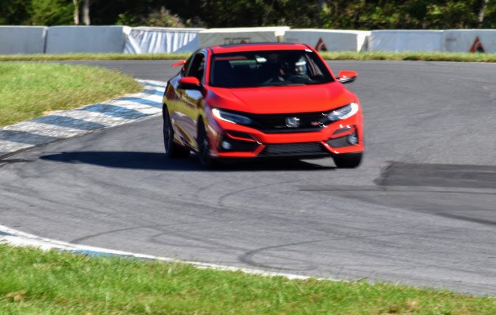 2020 Civic Si racetrack