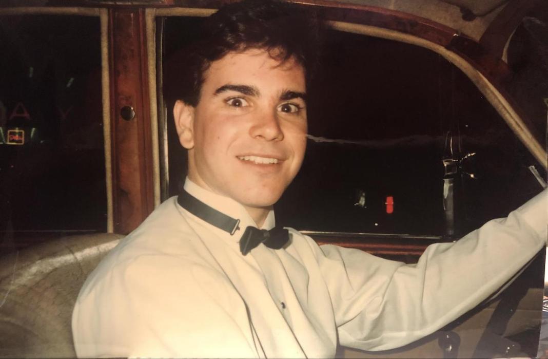 Jeff Cowan driving Jaguar