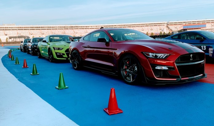 2020 Shelby GT500 Track Tour