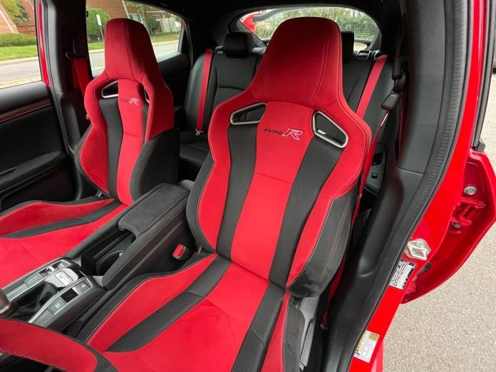 2020 Honda Civic Type-R interior